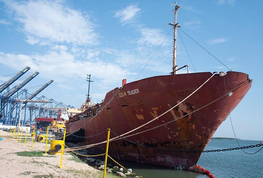 Desintegracion de barcos