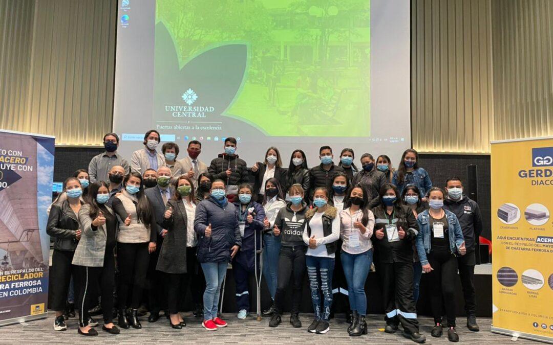 Gerdau Diaco, la mayor recicladora de chatarra ferrosa de Colombia:    Lidera iniciativa para capacitar a los recicladores del país